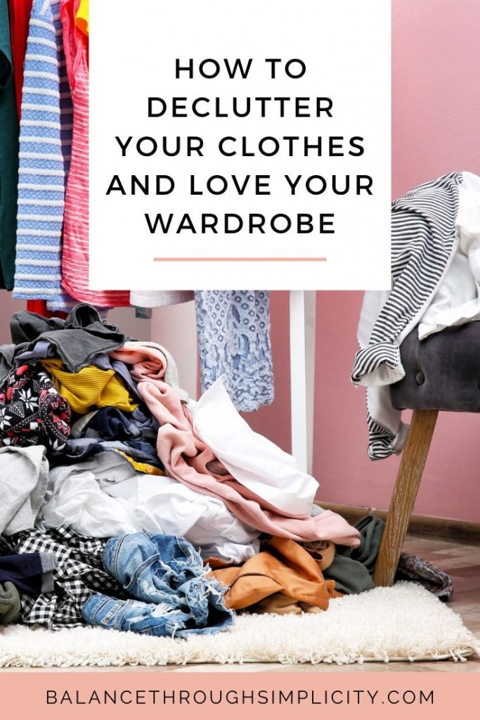 How to declutter your wardrobe and love your clothes