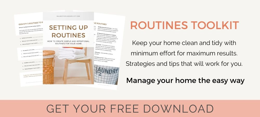 Routines workbook