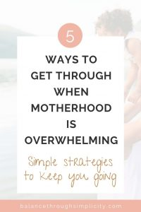 5 ways to help an overwhelmed mother