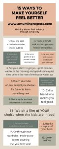 15 easy ways to make yourself feel better