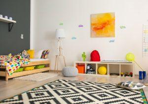Minimalism and kids - child's bedroom