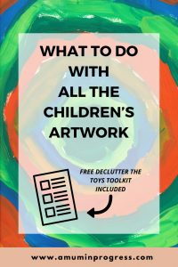 What to do with all the children's artwork
