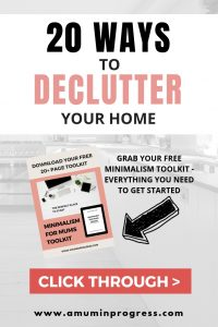 20 ways to declutter your home