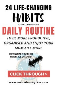 24 Life-changing habits to include in your daily routine