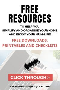 Free resources from A Mum in Progress