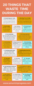 20 things that waste time during the day