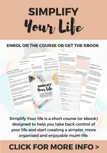 Simplify your life course and ebook