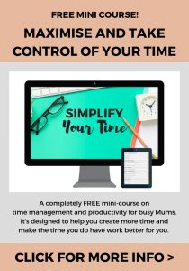 Take my mini-course Simplify Your Time