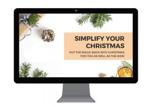 Simplify Your Christmas - course