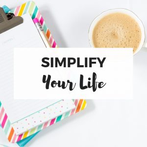 Simplify Your Life course