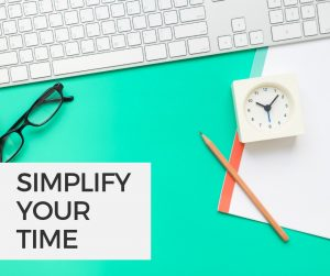 Simplify Your Time course