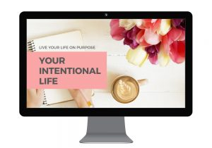 Your Intentional Life course