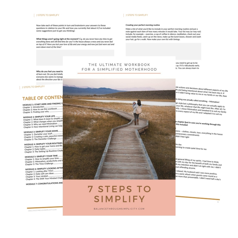 7 Steps To Simplify Inside Pages