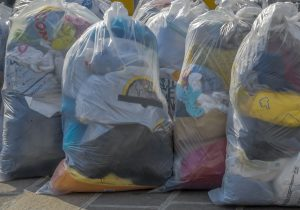 Donate clothes that you have decluttered and no longer want to keep