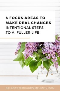 4 focus areas to make real changes