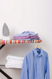 Ironing is one of the top 10 routines to keep the home clean and tidy