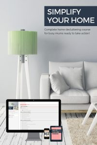 Simplify Your Home course - store image