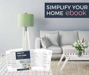 Simplify Your Home ebook - store image