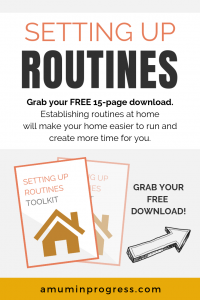 Setting up routines