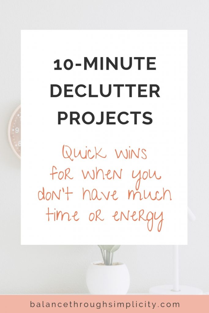 10-Minute Declutter Projects For Busy People
