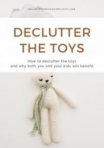 Declutter The Toys Toolkit