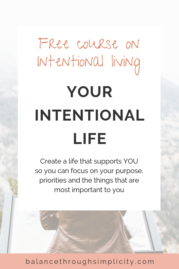 Your Intentional Life