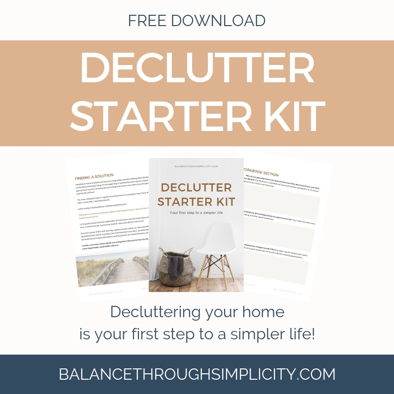 Declutter Starter Kit Free Download
