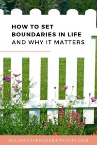Why setting boundaries is the ultimate form of self-care