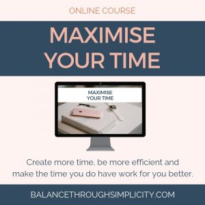 Maximise Your Time Course