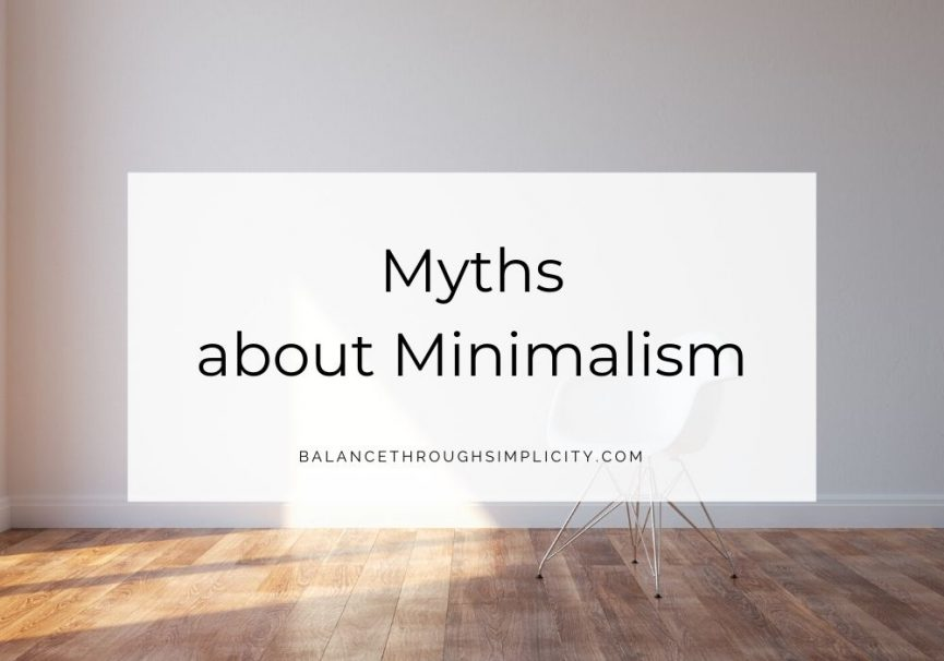 Myths about Minimalism