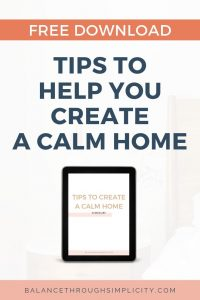 Tips To Help You Create A Calm Home Free Download