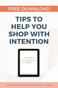 Tips To Help You Shop With Intention Free Download