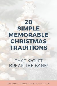 20 Simple Memorable Christmas Traditions That Won't Break The Bank