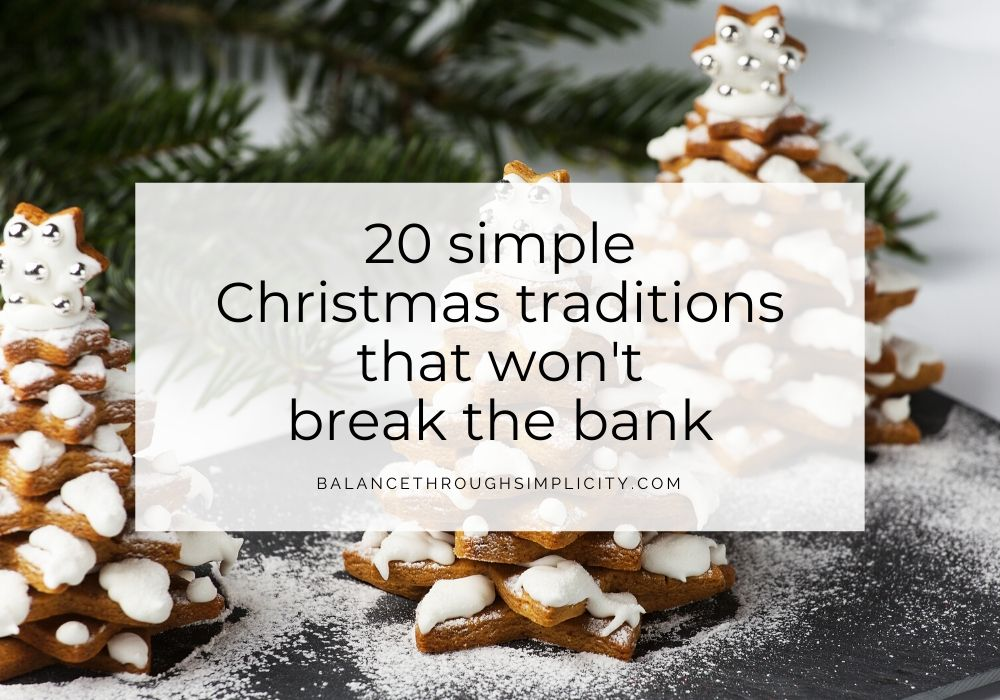 20 Simple Christmas Traditions That Won't Break The Bank