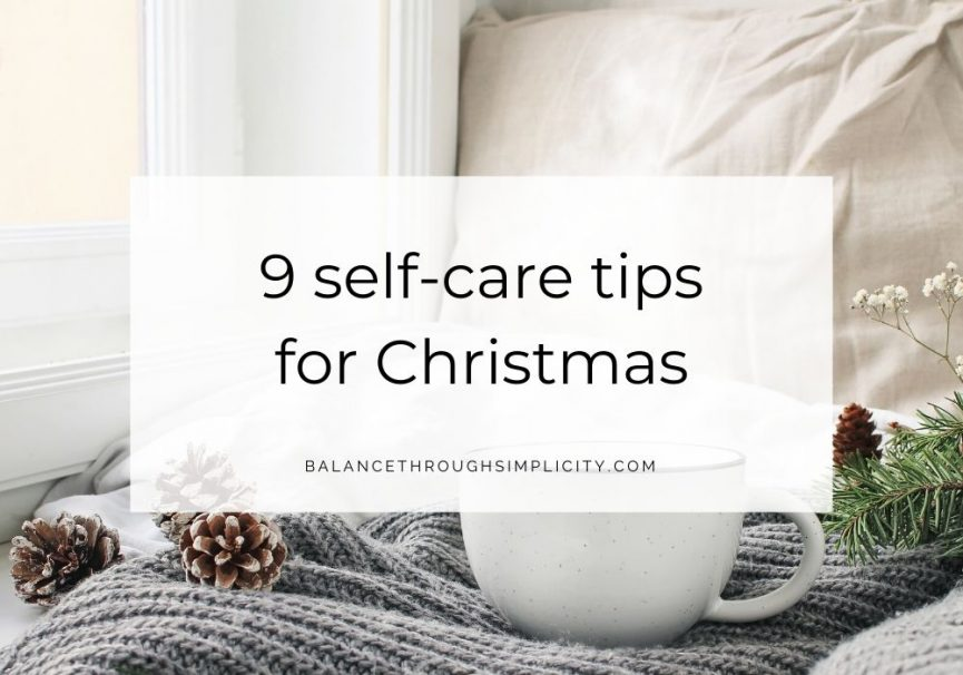 9 Self-Care Tips For Christmas
