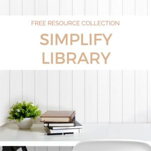 Simplify Library free resource collection