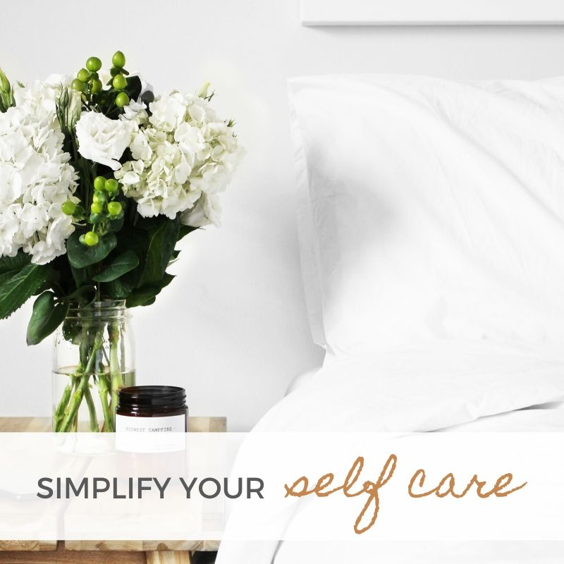 Simplify Your Self Care Free Challenge