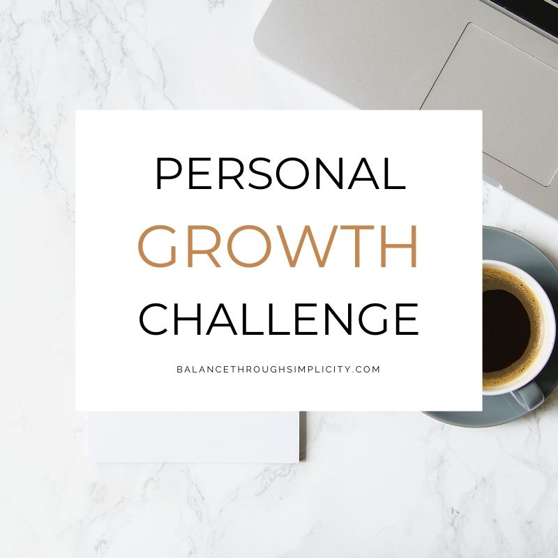 30-day Personal Growth Challenge