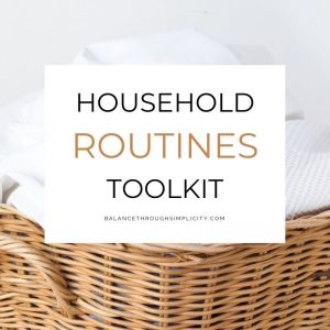 Household Routines Toolkit