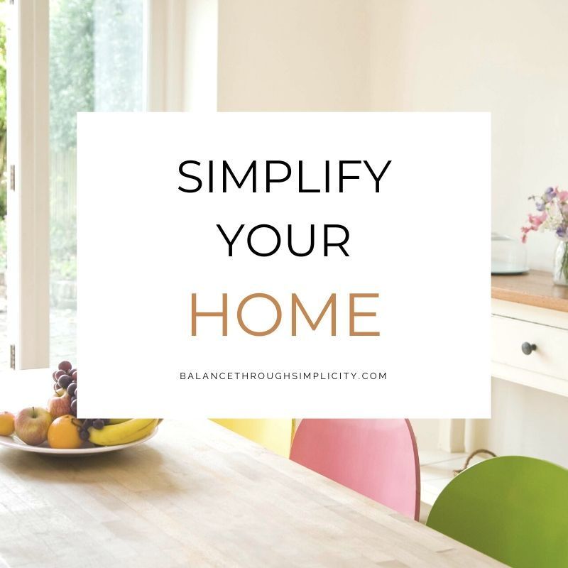 Simplify Your Home course