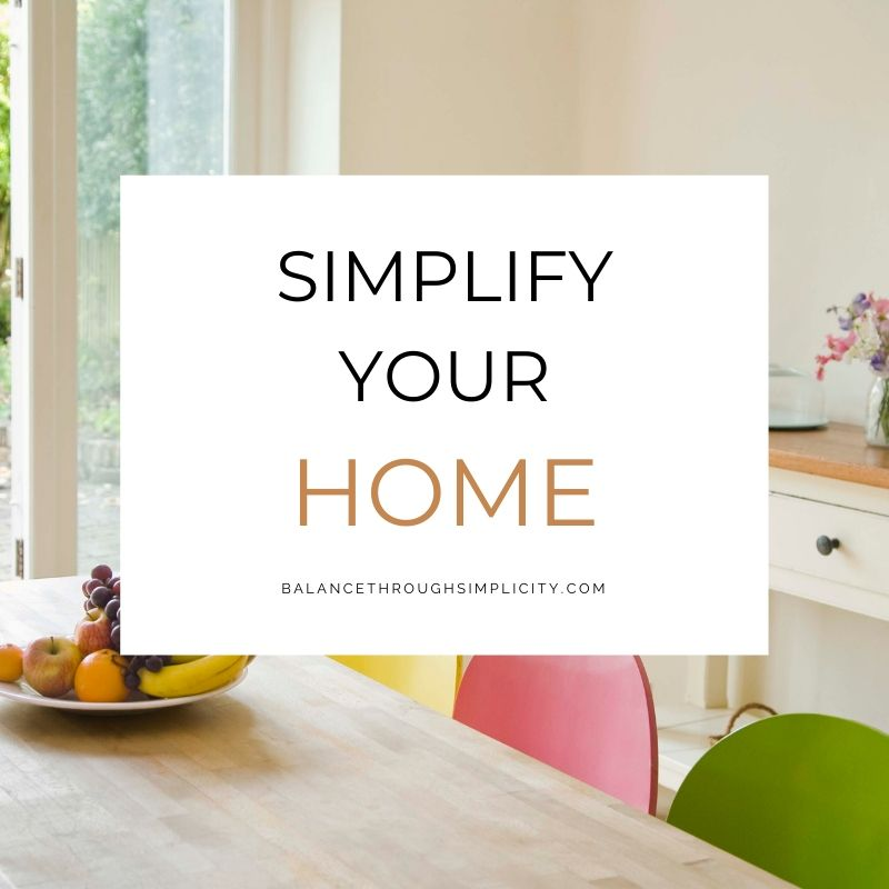 Simplify Your Home online course