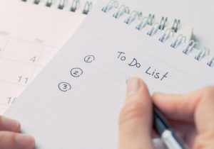 Write A To Do List To Stop Wasting Time