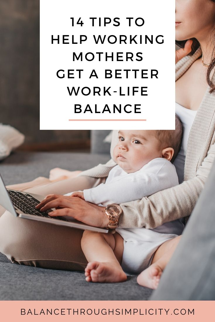 14 helpful tips for the working mum