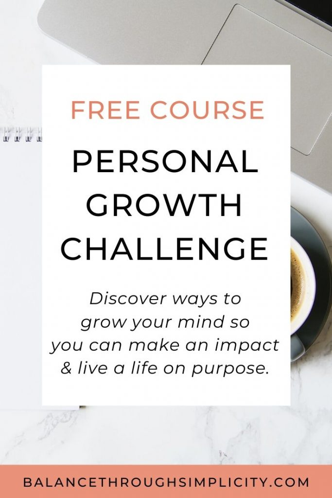 Personal Growth Challenge