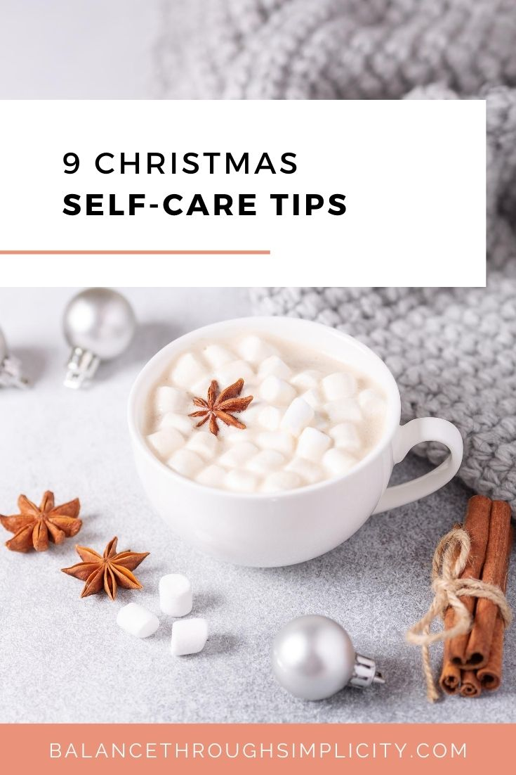 9 Christmas self-care tips