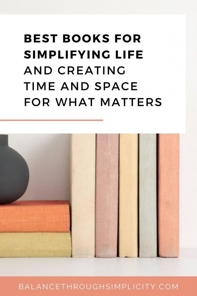 Best books for simplifying life