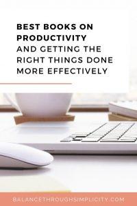 Best books on productivity