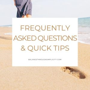 FAQs and quick tips