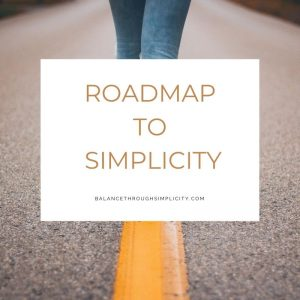 Roadmap to simplicity