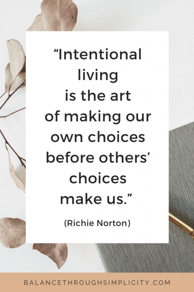 5 decisions that inspired my intentional life